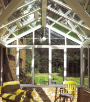 Cross shaped conservatory